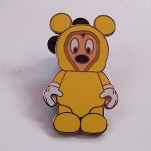 Disney Pin Vinylmation Poncho Mickey Mouse